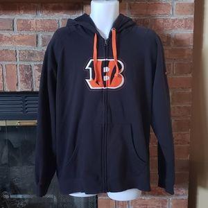 Cincinnati Bengals Full Zip Sweatshirt